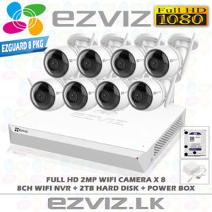 8-camera-package-ezviz-nvr-wifi-8ch in sri lanka