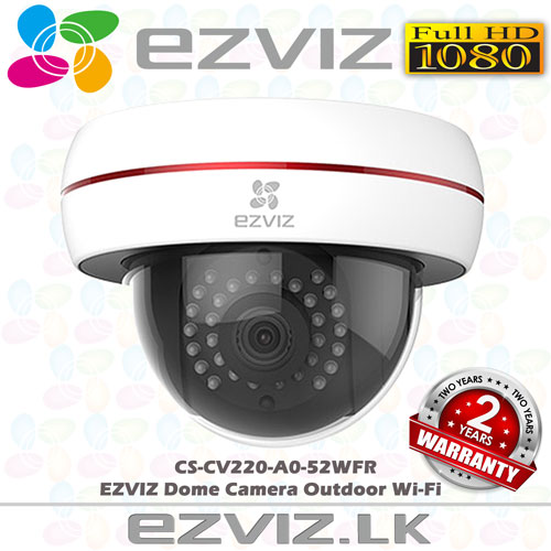CS-CV220-A0-52WFR ezviz dome camera wifi sri lanka