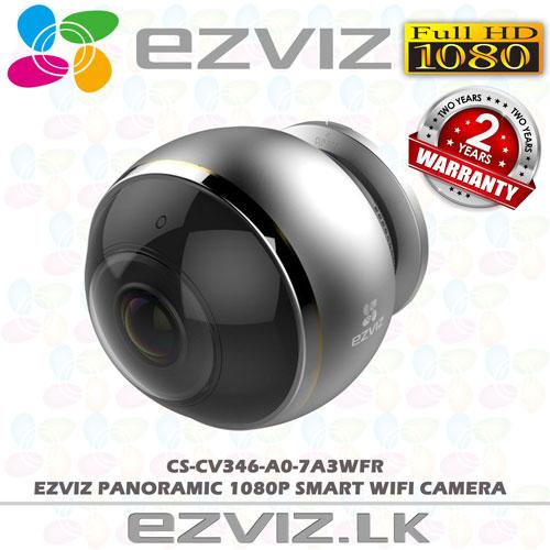 CS-CV346-A0-7A3WFR--PANO wifi panoramic camera sri lanka