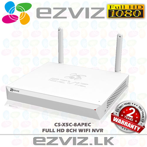 CS-X5C-8APEC wifi nvr for sale in sri lanka best price