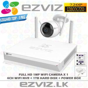 Ezviz 1MP Full HD Wifi 1Ch Outdoor package Brand: EZVIZ
