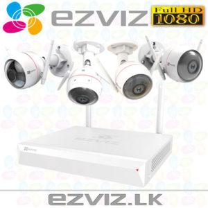 ezWireLess Kit - EZVIZ CCTV WIFI CAMERA PACKAGE