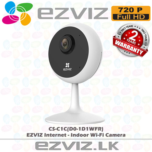CS-C1C D0-1D1WFR sale sri lanka ezviz wifi ip cctv indoor hd camera