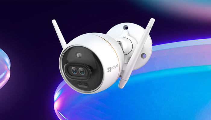 Outdoor c3w Color night vision wifi camera sri lanka sale
