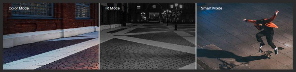 smart mode - ezviz color camera