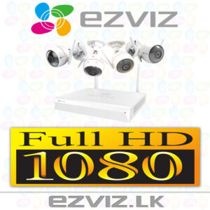 Wi-Fi Security Camera Packages 1080P Full HD - 2MP
