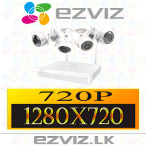 Wi-Fi Security Camera Packages 720P Full HD - 1MP